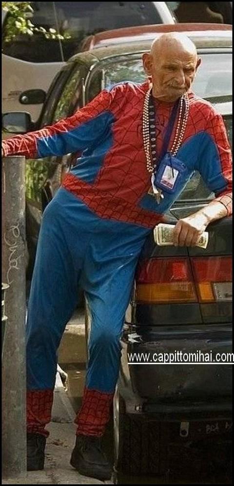 uomo ragno