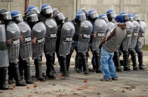 polizia paura