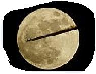 luna tagliata